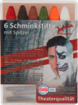 dm-drogerie markt Jofrika 6 Schminkstifte Halloween mit Spitzer