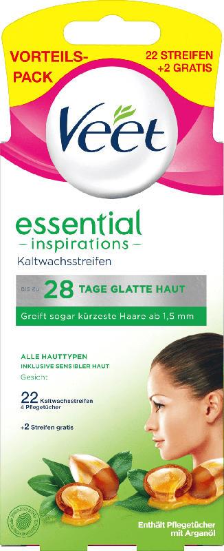 Veet Kaltwachsstreifen Gesicht essential inspirations
