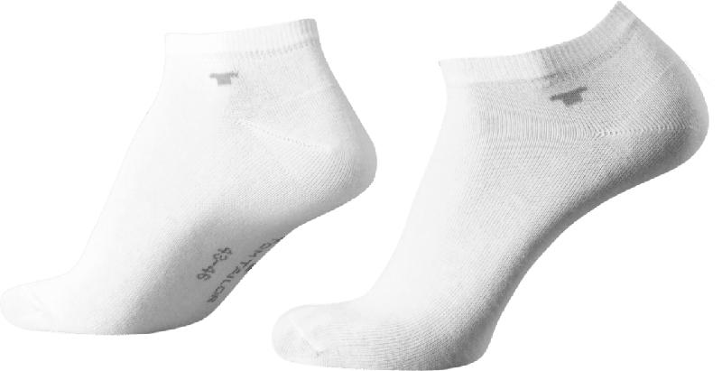 Tom Tailor 4er Pack Sneakers Gr. 35-38, weiß