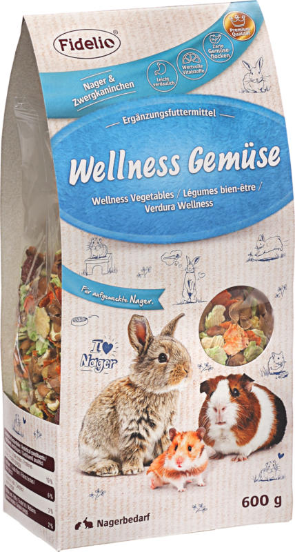 FIDELIO Snack für Nager, Wellness Gemüse