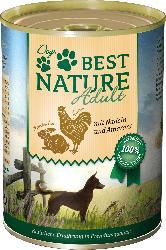 Dogs Best Nature Nassfutter für Hunde, Adult, Kaninchen und Huhn