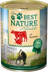 Cats Best Nature Nassfutter für Katzen, Adult, Rind, Pute und Karotten