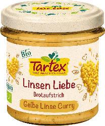 Tartex Aufstrich, Gelbe Linse Curry