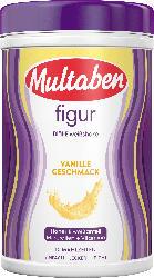 Multaben Mahlzeitenersatz, Diät-Eiweiß-Shake Pulver figur, Vanille-Geschmack