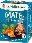 dm-drogerie markt Bad Heilbrunner Kräuter-Tee, Mate Tee mit Kurkuma (15 x 2 g)