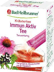 Bad Heilbrunner Kräuter-Tee im Stick, Immun Aktiv Tee, mit Echninacea, Holunderbeeren und Vitamin C