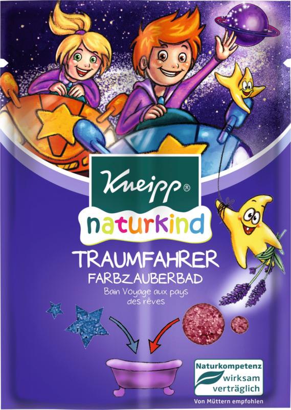 Kneipp Badezusatz naturkind Traumfahrer Farbzauberbad, 2x20g