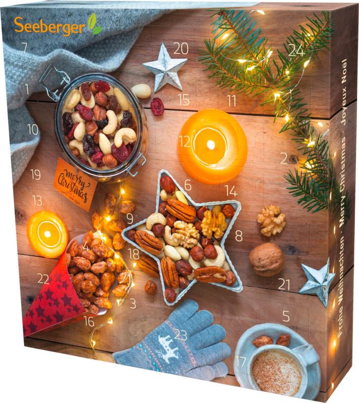 Seeberger Adventskalender mit Nüssen & Trockenobst