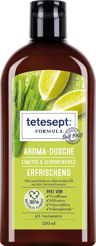 tetesept Duschgel Formula Limette & Zitronengras