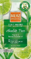 Merz Spezial Maske 2in1 Peeling & Pflege - Absolute Pure