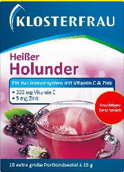 Klosterfrau Heißer Holunder Heißgetränk Beutel 10 St.