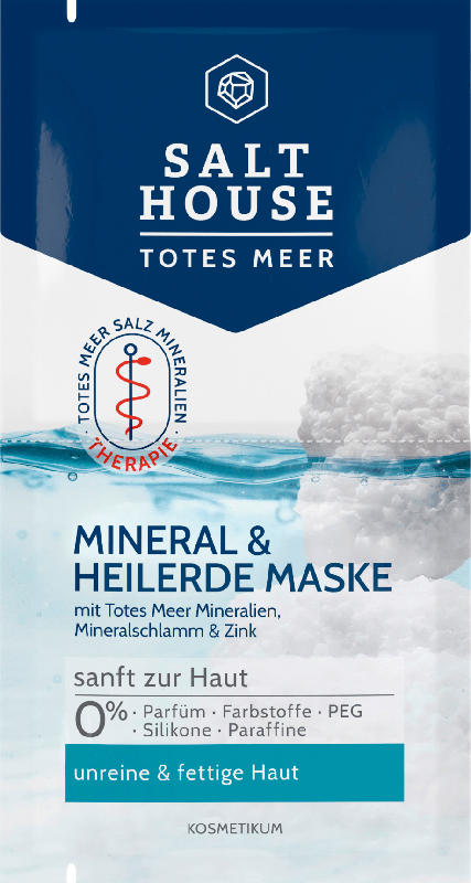Salthouse Maske Totes Meer Therapie Mineral & Heilerde