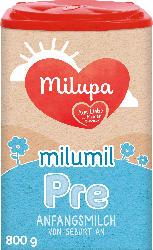 Milupa Anfangsmilch Pre Milumil von Geburt an
