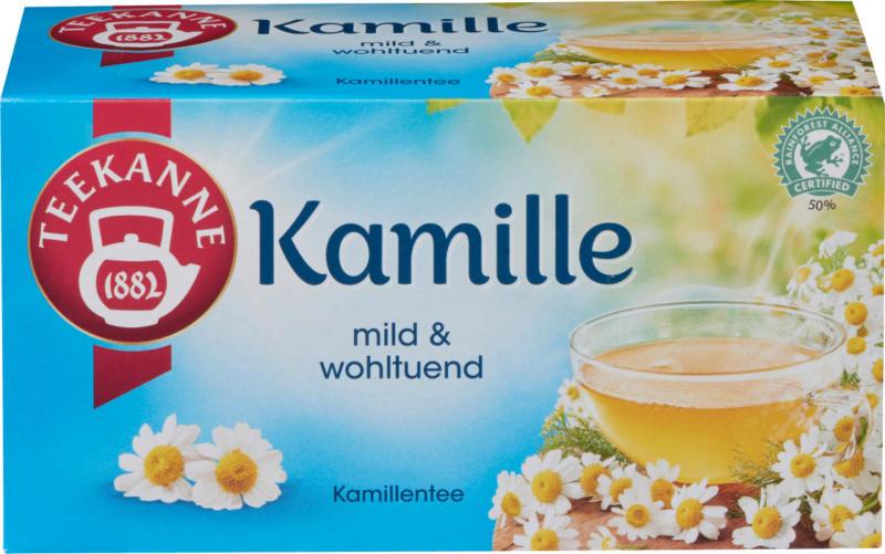 Teekanne Kräuter-Tee, Kamille (20 x 1,5 g)