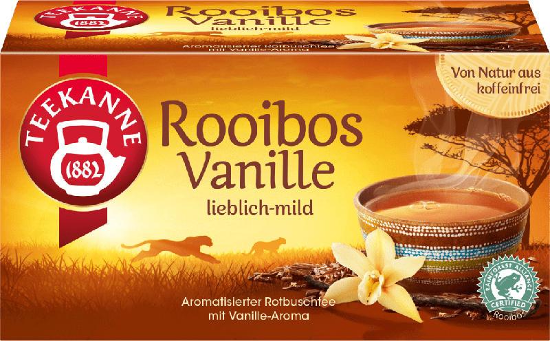 Teekanne Rooibos-Tee Vanille (20 x 1,75 g)