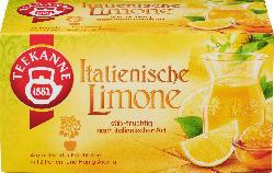 Teekanne Früchte-Tee, italienische Limone (20 x 2,5 g)