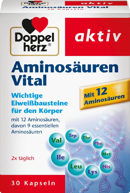 Doppelherz Aminosäuren Vital Kapseln 30 St.