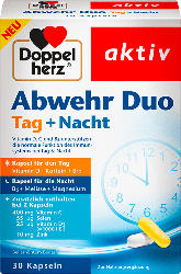 Doppelherz Abwehr Duo Tag + Nacht Kapseln, 30 St.