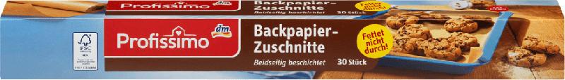 Profissimo Backpapier-Zuschnitte