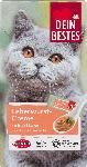 dm-drogerie markt Dein Bestes Snack für Katzen, Leberwurst-Creme mit viel Leber, 8 St