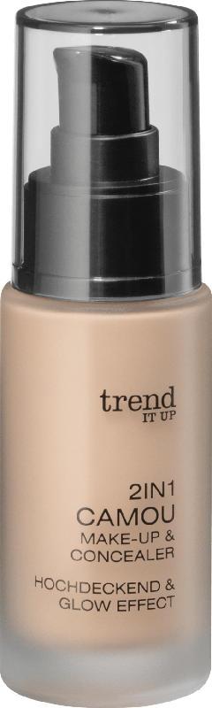 trend IT UP Make-up 2in1 Camou Make-up & Concealer  010