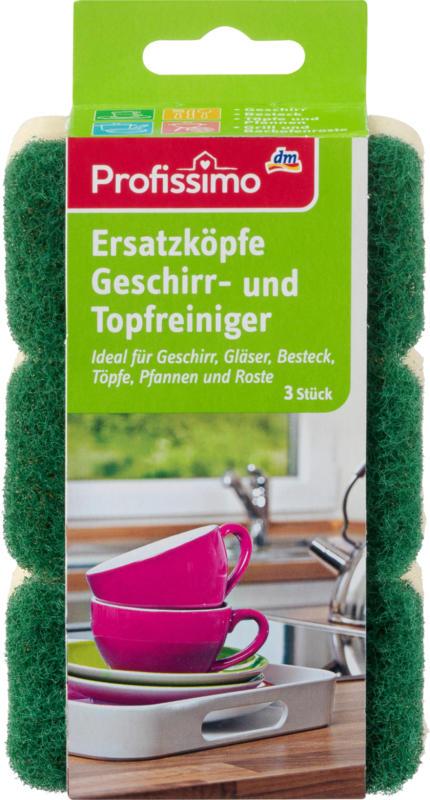 Profissimo Topfreiniger-Ersatzköpfe