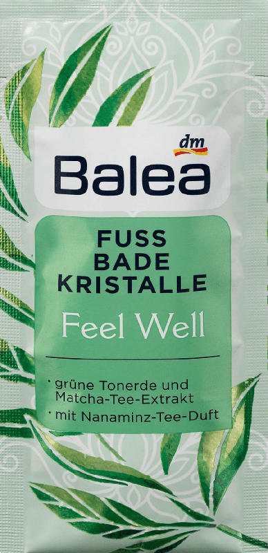 Balea Fuß-Bad Kristalle Feel Well