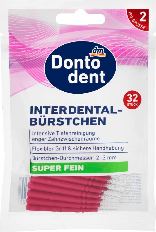 Dontodent Interdentalbürsten rosa 0,4 mm ISO 2