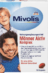 Mivolis Männer Aktiv Komplex, Kapseln, 30 St.