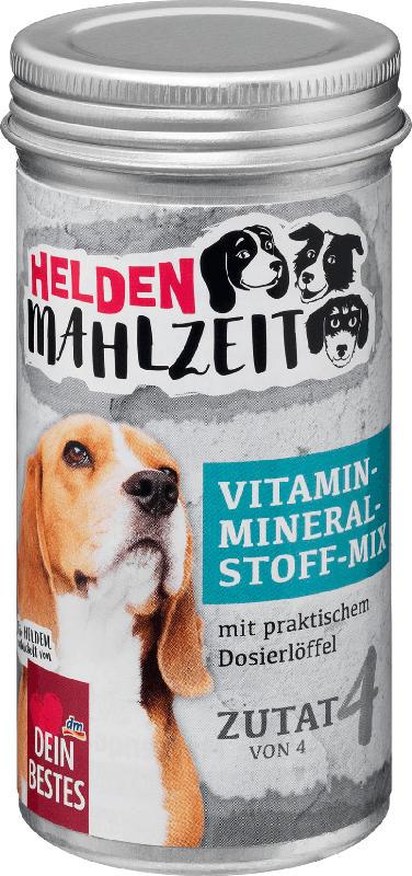 Dein Bestes Heldenmahlzeit, Ergänzungsfuttermittel für Hunde, Vitamin-Mineralstoff-Mix