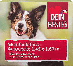 Dein Bestes Zubehör für Hunde, Autodecke 1,45x1,65