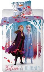Bettwäsche Frozen mit Elsa, Anna und Olaf (Preis für kleinste Grösse)