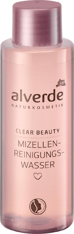 alverde NATURKOSMETIK Clear Beauty Mizellen-Reinigungswasser