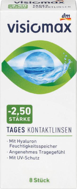 VISIOMAX Tageslinse -2,50