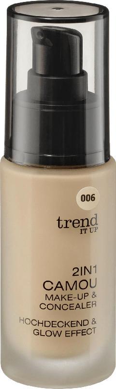 trend IT UP Make-up 2in1 Camou Make-up & Concealer  006