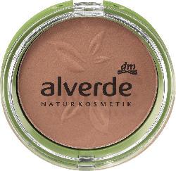 alverde NATURKOSMETIK Bronzer Mattifying Bronzing Powder