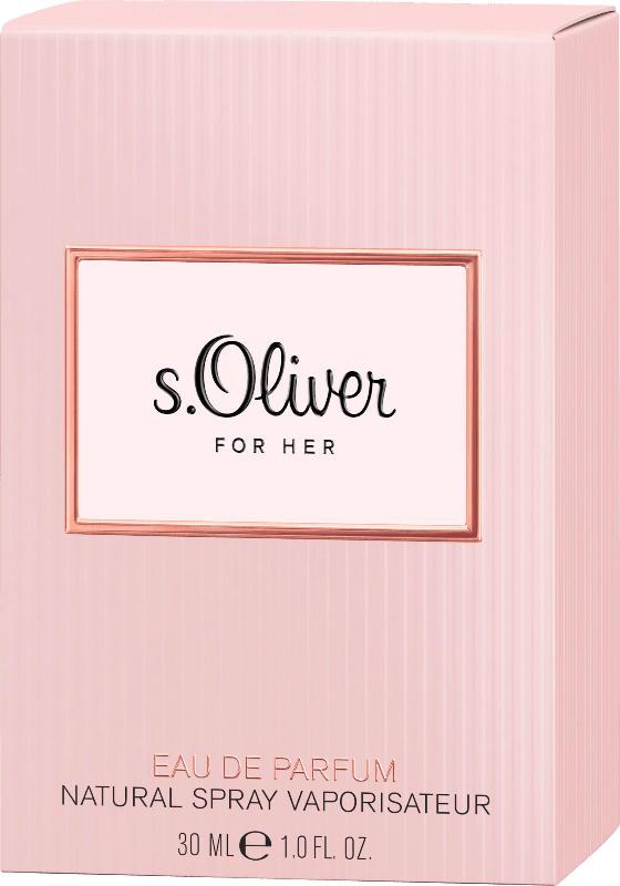 s.Oliver Eau de Parfum For Her