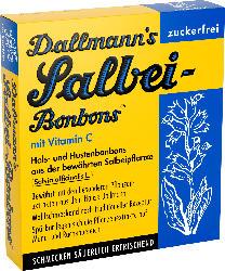 Dallmann's Salbei-Bonbons zuckerfreie Hals- und Hustenbonbons