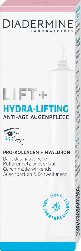 Diadermine Augencreme Lift+ Hydra Lifting Augenkontur