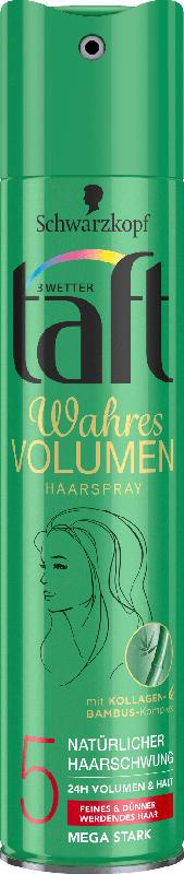 Schwarzkopf 3 Wetter taft Haarspray Volumen Halt 5