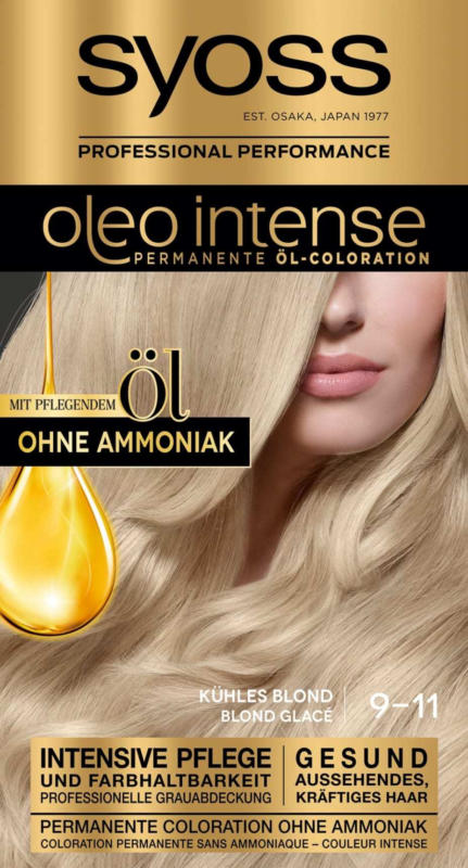 Syoss Oleo Intense Haarfarbe kühles Blond 9-11, 1 St