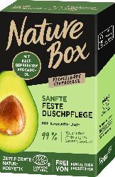 Nature Box Feste Dusche Avocado-Öl