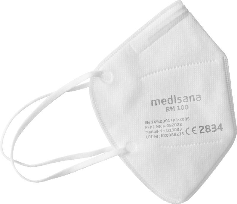 Medisana Atemschutzmaske für Erwachsene, FFP 2, Einweg