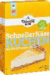 dm-drogerie markt Bauckhof Backmischung für Kuchen, der schnelle Käsekuchen, glutenfrei