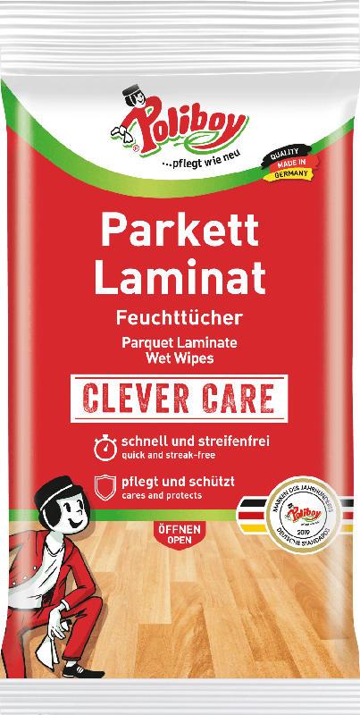 Poliboy Parkett und Laminat Feuchttücher