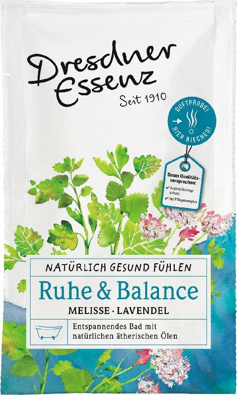 Dresdner Essenz Badesalz Natürlich Gesund Fühlen Ruhe & Balance