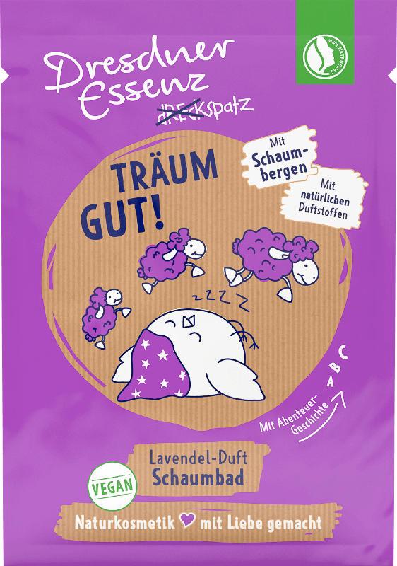 Dresdner Essenz Badezusatz Dreckspatz Schaumbad Träum gut!
