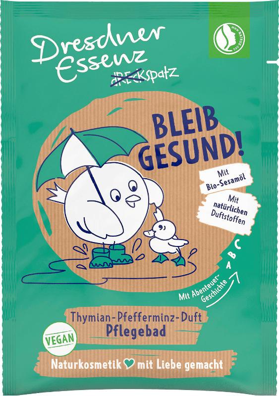 Dresdner Essenz Badezusatz Dreckspatz Pulverbad Bleib gesund!