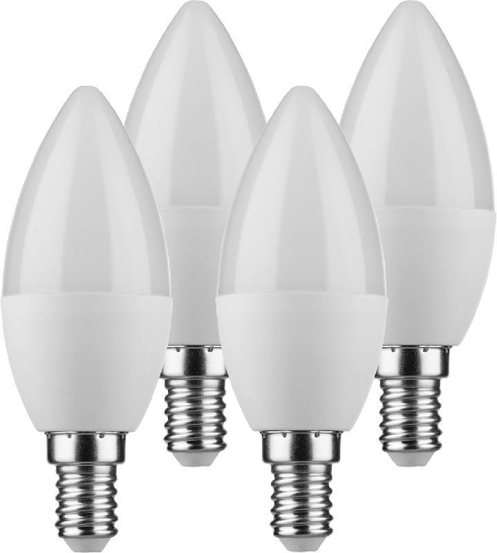 Müller Licht LED Kerze 5,5W E14 3+1 Set 4St