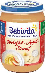 Bebivita Menü Tolle Knolle Kartoffelpuffer mit Apfelpüree ab 6. Monat